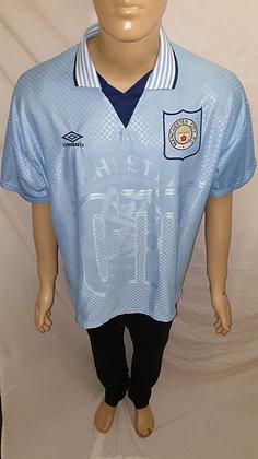 1995/96-1996/97 Manchester City Home Shirt