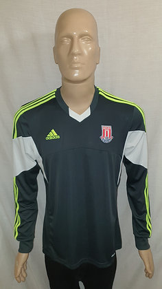 2013/14 Stoke City Long Sleeved Away Shirt