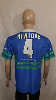 2001 St. Helens Away Shirt NEWLOVE 4 (Signed)