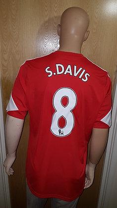 2013/14 Southampton Home Shirt S.DAVIS 8