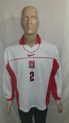 1997-1998 Poland Long Sleeved Home Shirt