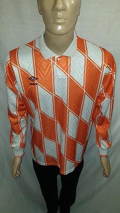 1990/91-1991/92 Umbro Long Sleeved Shirt