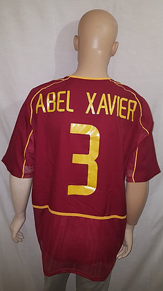 2002-2003 Portugal Home Shirt ABEL XAVIER 3