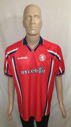 1999/00 Middlesbrough Home Shirt (Match Worn Reserve Team Shirt?)