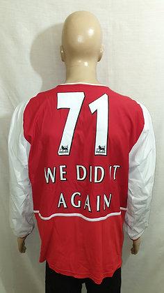 2002/03-2003/04 Arsenal Long Sleeved Home Shirt