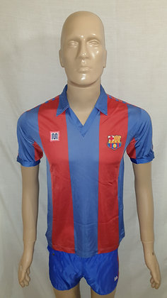 1984/85-1988/89 FC Barcelona Home Shirt and Shorts