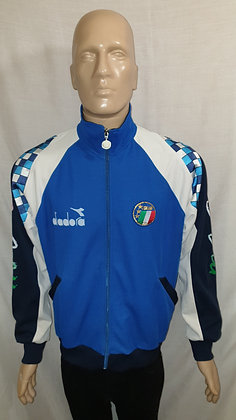 1990-1992 Italy Tracksuit Top: Size 52
