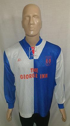 Bradford Town Long Sleeved Home Shirt (Match Worn?)