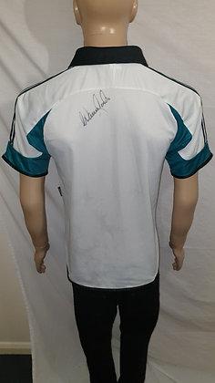 1999/00 Newcastle United Away Shirt (Signed by Warren Barton)