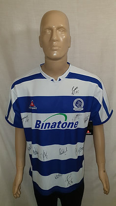 2005/06 Queen's Park Rangers Home Shirt: Size 38/40 (Signed and BNWT)