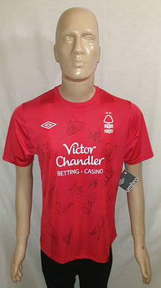 2010/11 Nottingham Forest Home Shirt (Signed and Brand New with Tag)