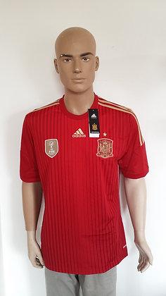 2014-2015 Spain Home Shirt: BNWT