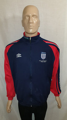 2000 England U21's European Championship Tracksuit Top (Player/Coach Issue)