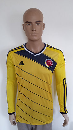 2014-2015 Colombia L/S Home Shirt