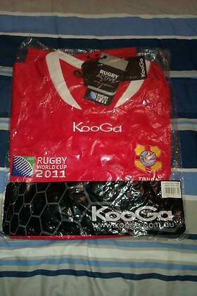 Tonga 2011 Rugby World Cup Shirt (Brand New in Bag)