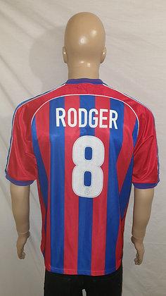 1999/00-2000/01 Crystal Palace Home Shirt RODGER 8