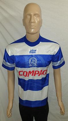 """1995/96 Queen's Park Rangers Home Shirt: Size 34/36"""""""