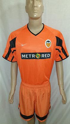 2001/02 Valencia CF Away Shirt and Shorts