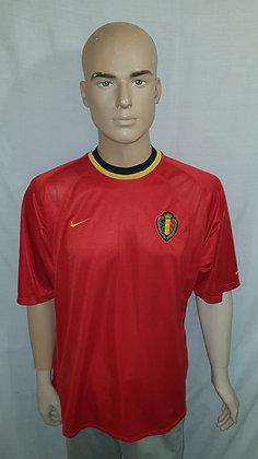 2000-2001 Belgium Home Shirt