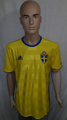 2016-2017 Sweden Home Shirt (Brand New with Tags)