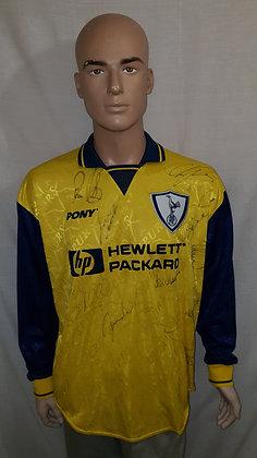 1995/96 Tottenham Hotspur Long Sleeved 3rd Shirt (Signed)