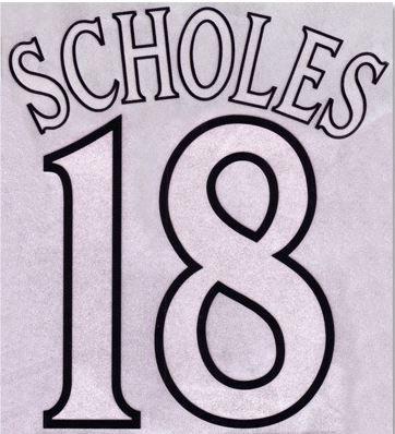 2000/01-2001/02 Manchester United N&N: SCHOLES 18