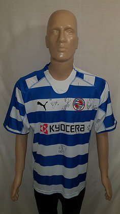 2006/07-2007/08 Reading Home Shirt (Signed & Brand New with Tag)