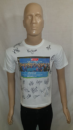 Millwall 2010 League One Play-off Final Winners T-Shirt (Signed)