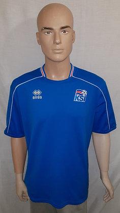 2008-2009 Iceland Home Shirt
