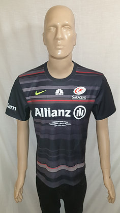 Saracens 2015 Premiership Final Shirt