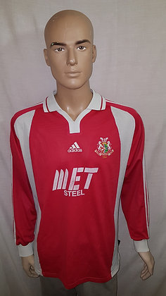 2002/03 Portadown Long Sleeved Home Shirt