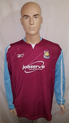 2005/06-2006/07 West Ham United L/S Home Shirt