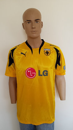 2007/08 AEK Home Shirt (Player Version): BNWT