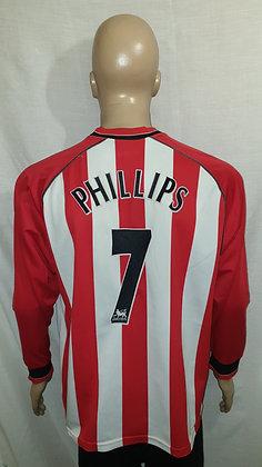 2003/04-2004/05 Southampton Long Sleeved Home Shirt PHILLIPS 7