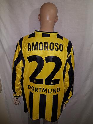 2001/02 Borussia Dortmund Home Shirt AMOROSO 22
