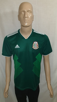 2018-2019 Mexico Home Shirt