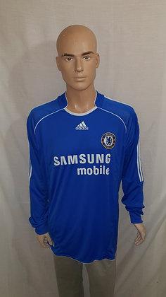 2006/07-2007/08 Chelsea Long Sleeved Home Shirt