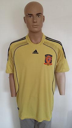 2008-2009 Spain Away Shirt