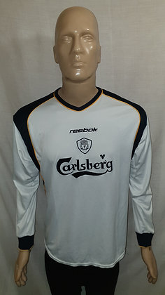 2001/02 Liverpool Long Sleeved Away Shirt