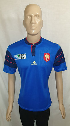 2015 France Rugby World Cup Home Shirt