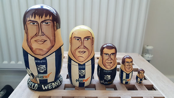2005/06 Sheffield Wednesday Russian Doll