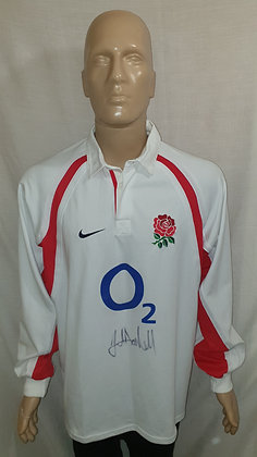 2002-2003 England Home Shirt (Brand New with Tag and Signed)
