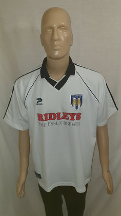 """1999/00 Colchester United Away Shirt: Size 46"""" - 48"""""""