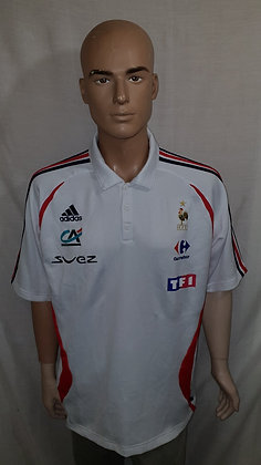 2006-2007 France Player Issue Polo Shirt