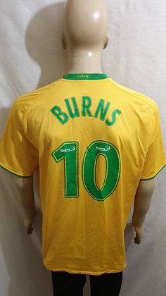 2008/09 Celtic Away Shirt BURNS 10