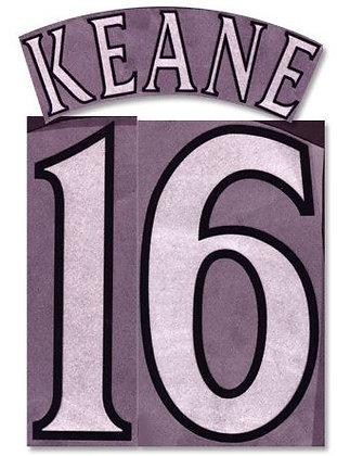 2000/01-2001/02 Manchester United N&N: KEANE 16