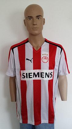 2005/06 Olympiakos SF Piraeus Home Shirt (Player Version)