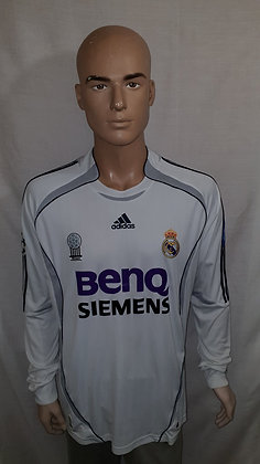 2006/07 Real Madrid Long Sleeved Home Shirt