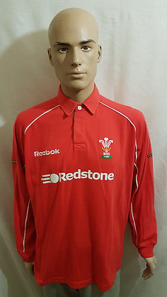2001-2002 Wales Home Shirt