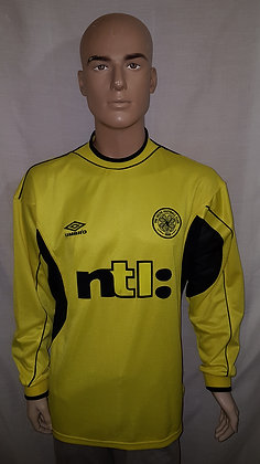 1999/00 Celtic Home Goalkeeper Shirt
